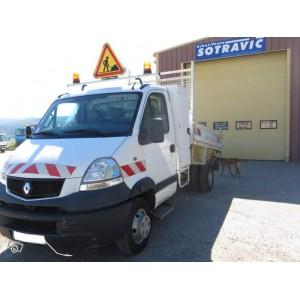 Camion Benne RENAULT 6,5T grue